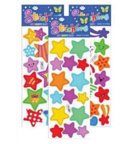 adesivo sticker estrelas 290887 kit