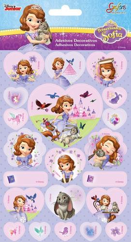 adesivo sticker princesinha sofia 620033 tilibra