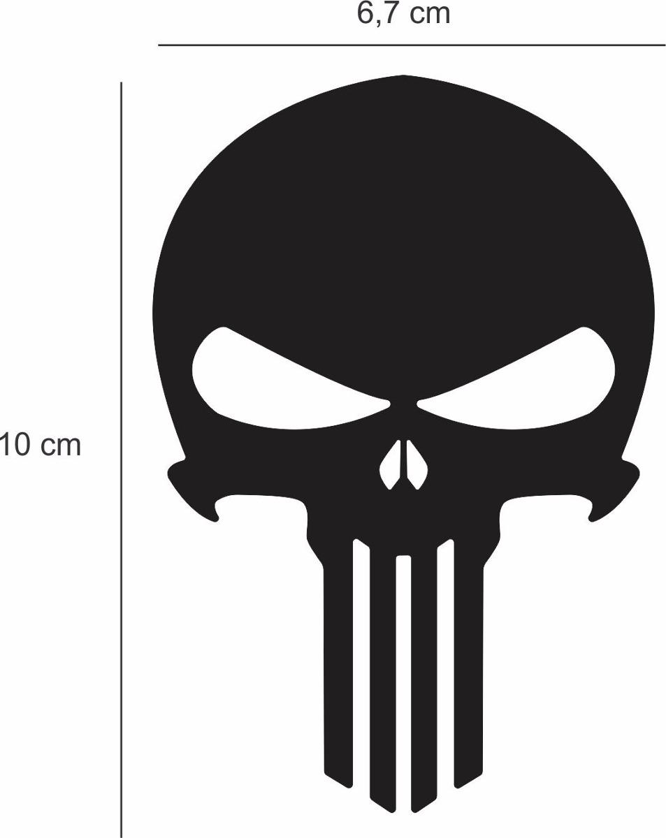 Adesivo De Chao Madeira ~ Adesivo Sticker Resinado Caveira Justiceiro Punisher Cromado R$ 8,90 em Mercado Livre