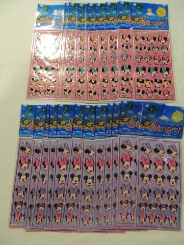 adesivo stickers mickey c/ 30 cartelas