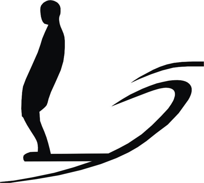 Aparador Com Pés Em X ~ Adesivo Surf Surfista Com Prancha R$ 7,00 em Mercado Livre