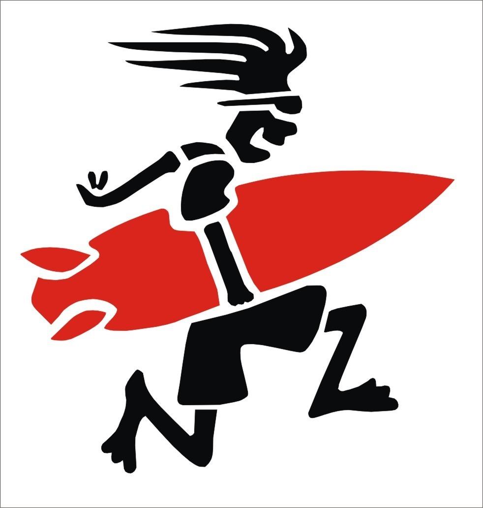 Aparador Com Pés Em X ~ Adesivo Surfista Louco Surf R$ 7,00 em Mercado Livre