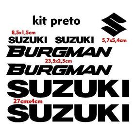 Adesivo Suzuki Burgman Kit Adesivo Burgman 125