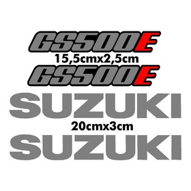 Adesivo Suzuki Gs500e Gs 500 E Gs 500 Gs500 Rabeta E Tanque