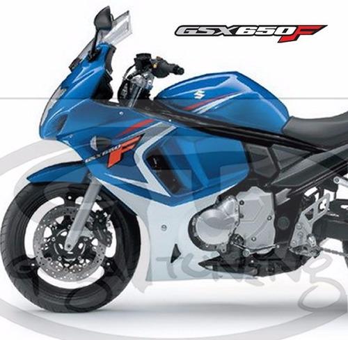 adesivo suzuki gsx 650f  2008 a 2014 material importado