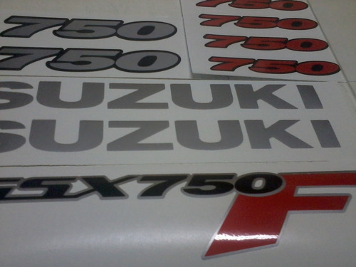 adesivo suzuki gsx 650f 650r 750f 750r srad 1000 gsxr todas