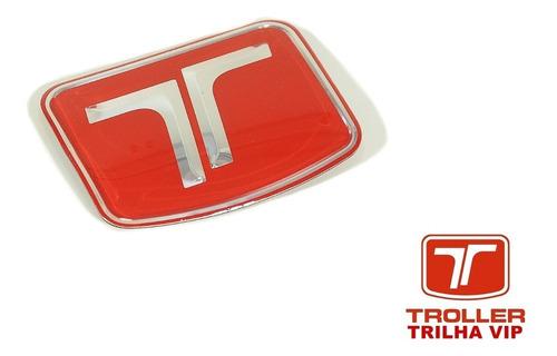 adesivo  t  grade frontal original troller ano 2009..