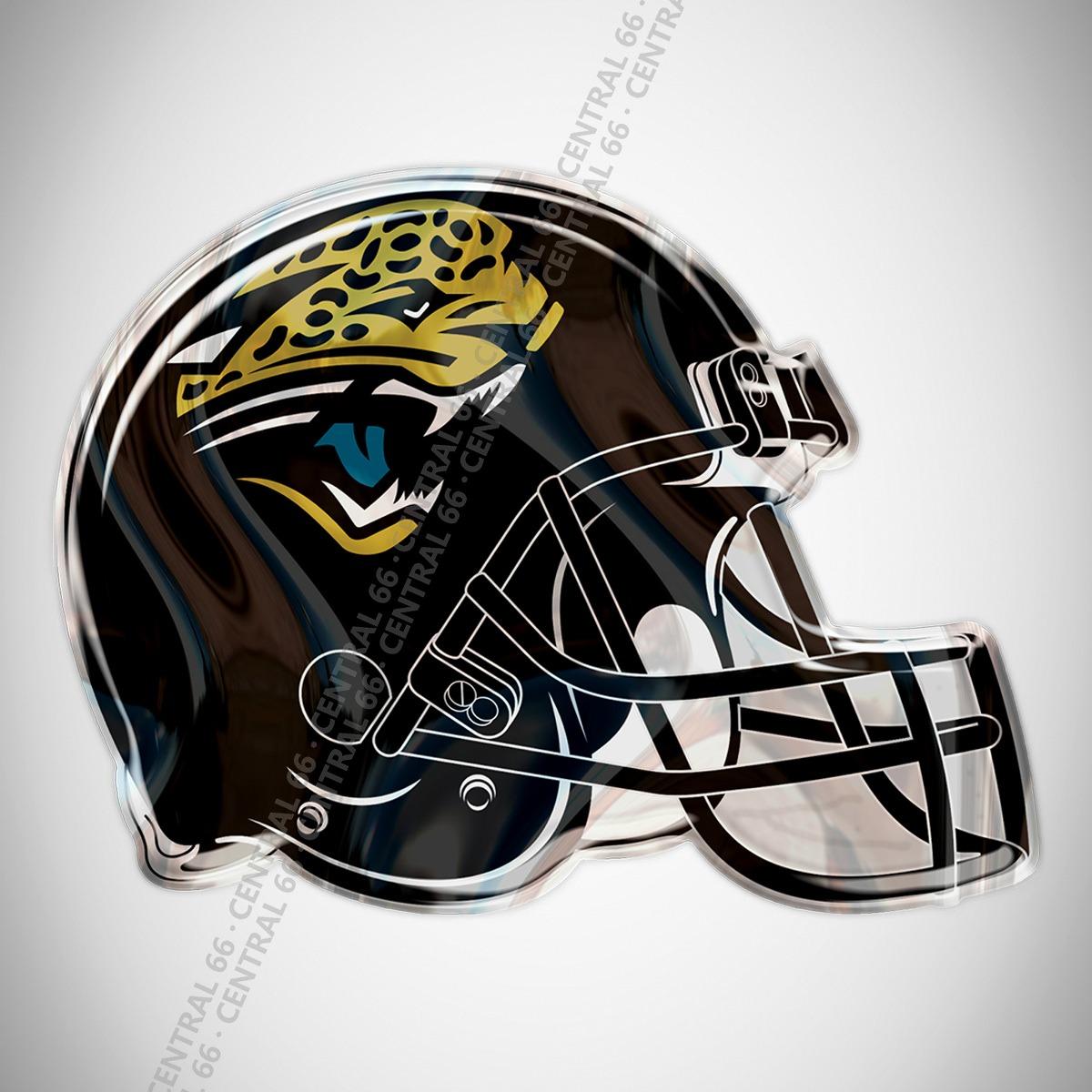 Adesivo Time Jacksonville Jaguars Football Helmet Resinado. Carregando Zoom.