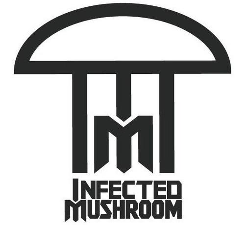 adesivo top deejay rave psy dj infected mushroom dj-40