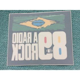 Adesivo Uol Rádio 89 Rock Fm Avesso Raro Interno Exclusivo
