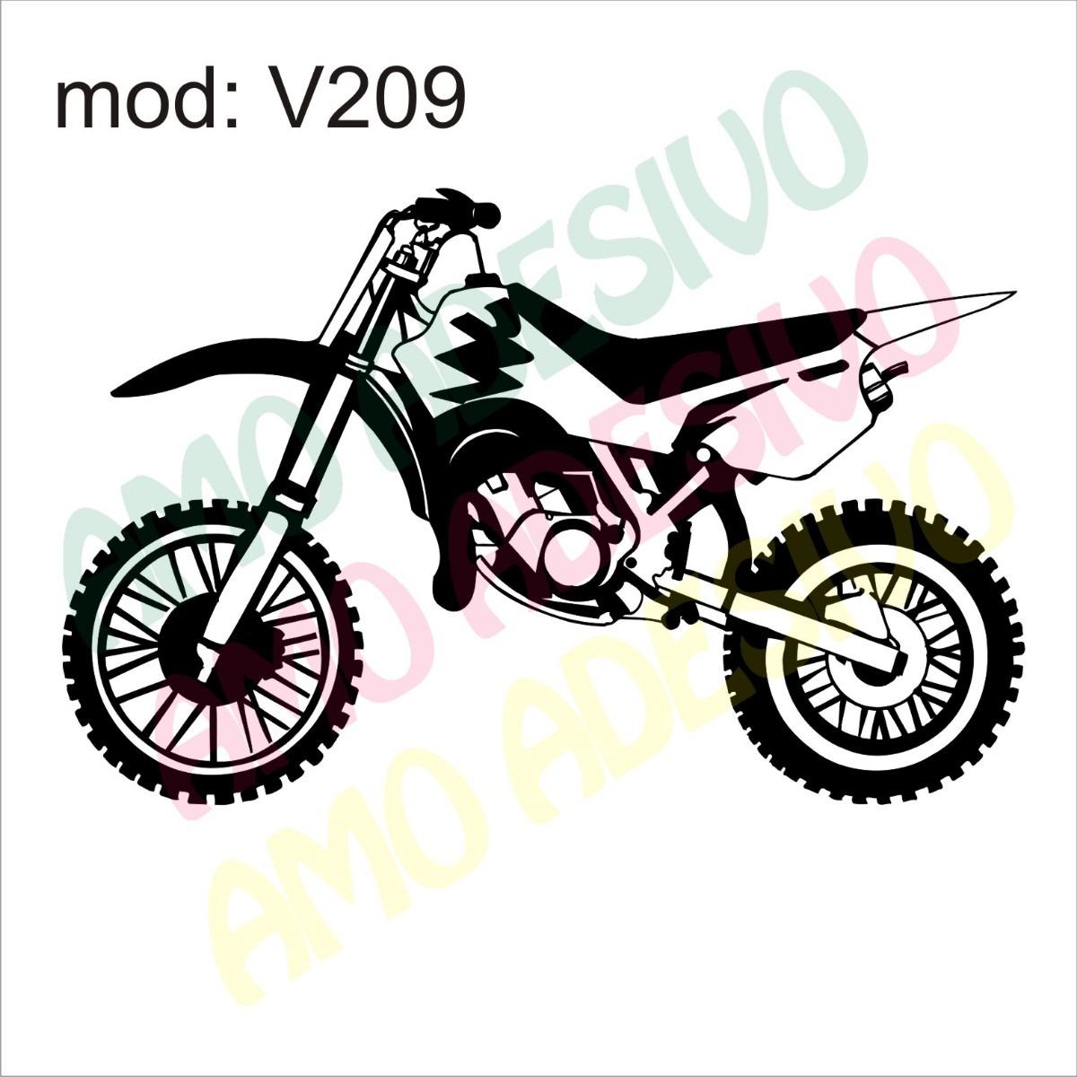 Adesivo V209 Moto Xt Desenho Abstrato Decorativo De Parede R 87