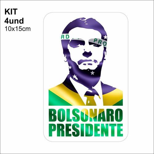 adesivo vinil bolsonaro presidente