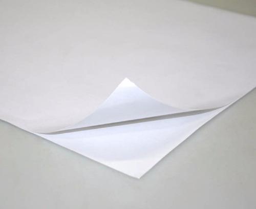 adesivo vinil branco fosco p/ jato de tinta a4 - prova dágua