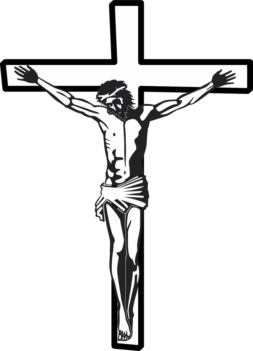 f2d7443af adesivo vinil jesus cristo cruz terço deus para parede vidro. Carregando  zoom.