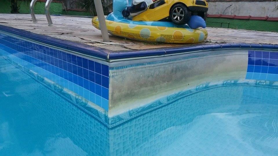 Adesivo vin lico prote o p borda d piscina 30cmx1m r for Fundas para piscinas