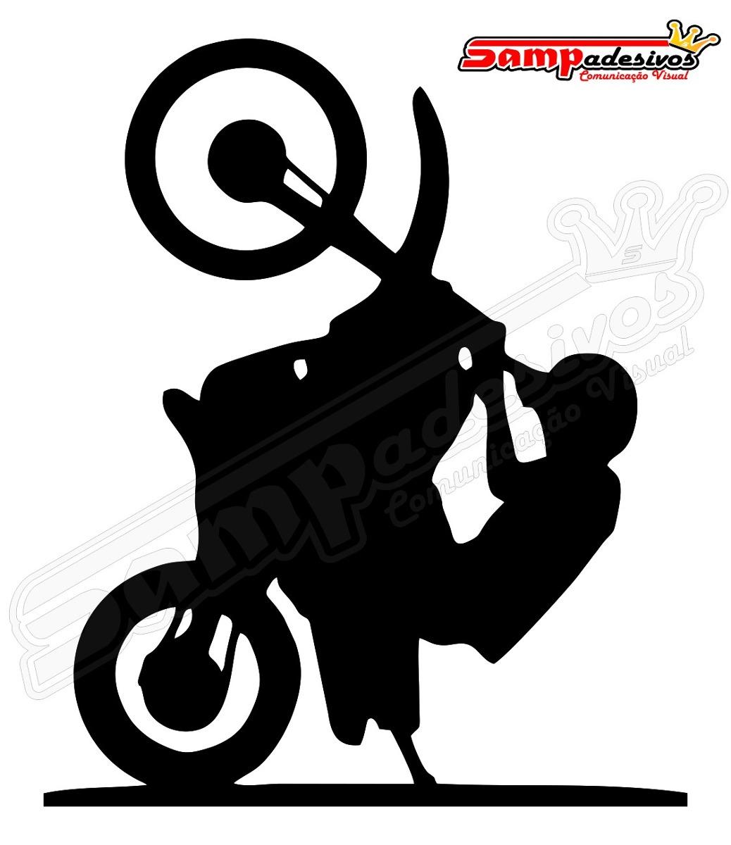 Adesivo Wheling, Grau, Empinar Moto, Tuning R$ 6,90 em Mercado Livre