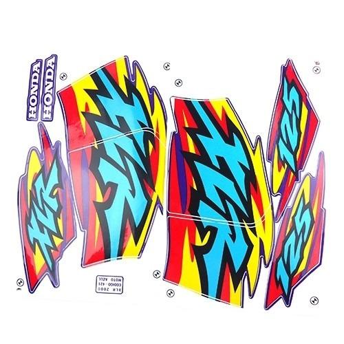 adesivo xlr 125 2000 azul kit
