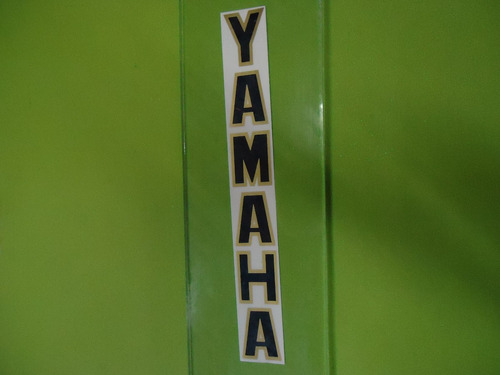 adesivo yamaha bengala preto