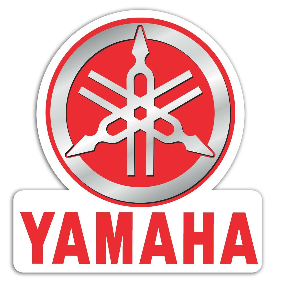 adesivo yamaha moto logo marca vintage retro 0113 r 2 99 em mercado livre. Black Bedroom Furniture Sets. Home Design Ideas