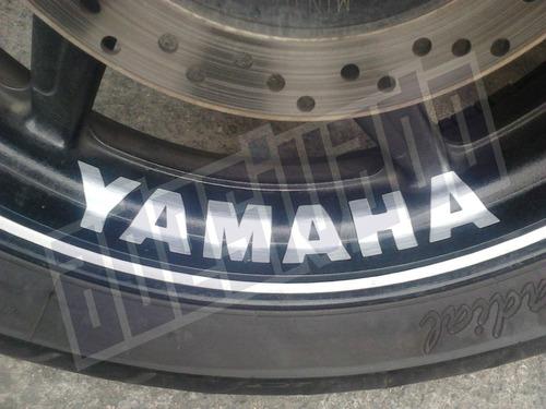 Aparador Y Vitrina Clasico ~ Adesivo Yamaha Racing Para Roda Racing R1 R6 Fazer Fz6 Xj6 R$ 26,98 em Mercado Livre