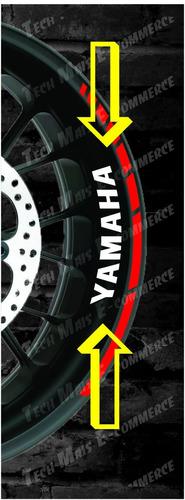adesivo yamaha refletivo borda interna da roda frete grátis