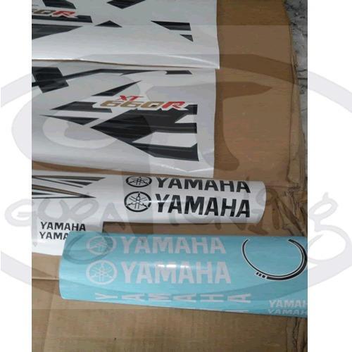 adesivo yamaha xt 660r 2015 preta material importado