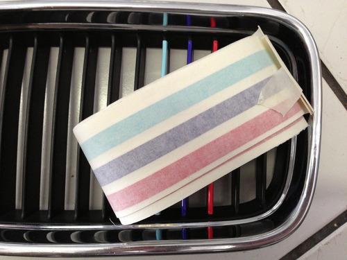 adesivo/faixa bmw e46 ///motorsport grade dianteira m3