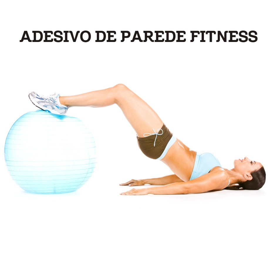Artesanato Sergipano ~ Adesivos 123 Painel Fotográfico Academia Fitness Pilates