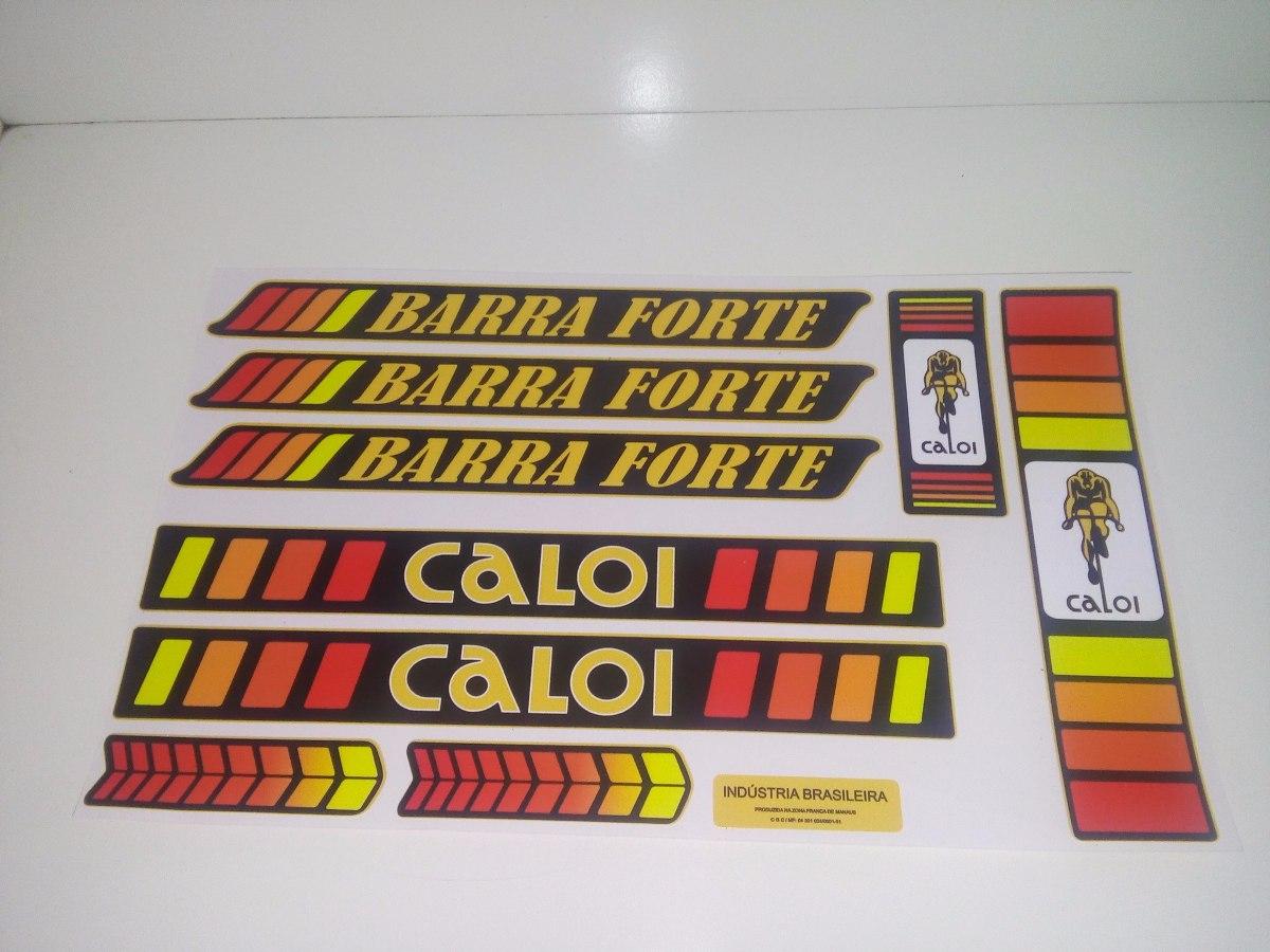 Adesivos Caloi Barra Forte Bicicletas Antigas Caloi 10 Ceci R
