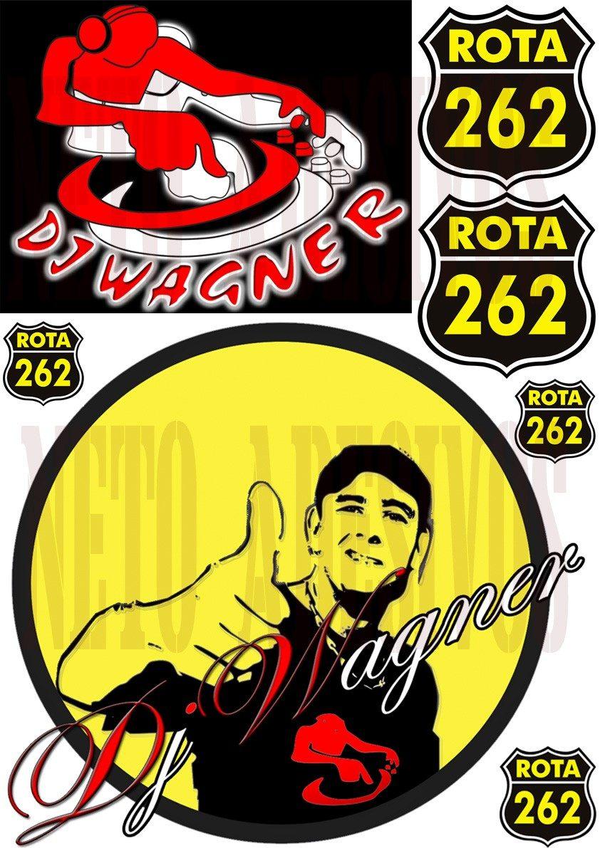 Adesivo Queimador De Gordura ~ Adesivos Caminhao Qualificado Dj Wagner, Rota 262, Charada R$ 19,99 em Mercado Livre