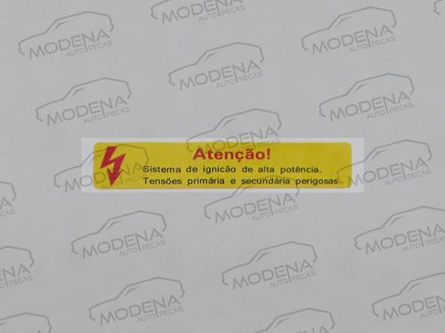 adesivos capo santana gl gls evidence sport 89 original