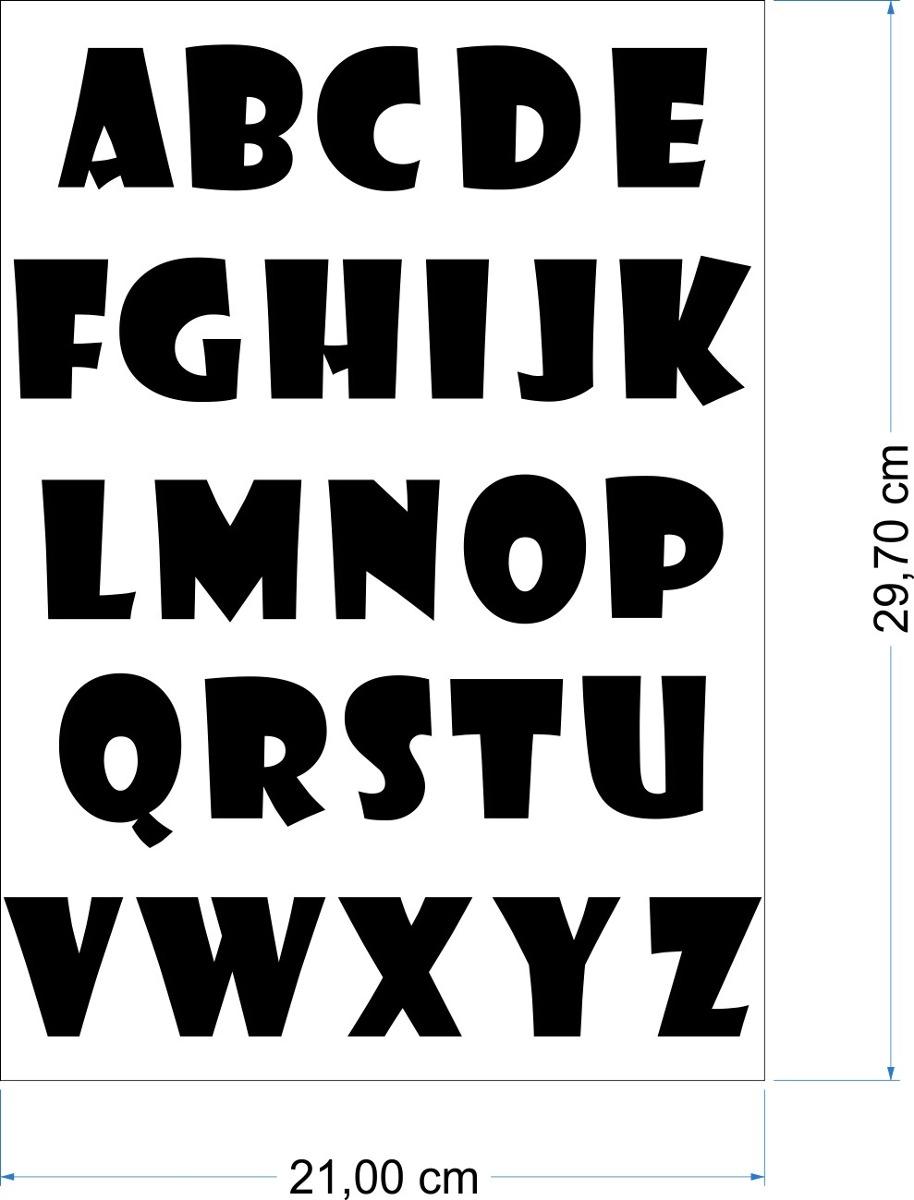 Artesanato Feltro Materiais ~ Adesivos Cartela Alfabeto Abc Adesivo Em Recorte Imprimax R$ 10,00 em Mercado L
