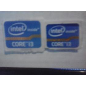 Adesivos Core I3  Originais Para Desktop