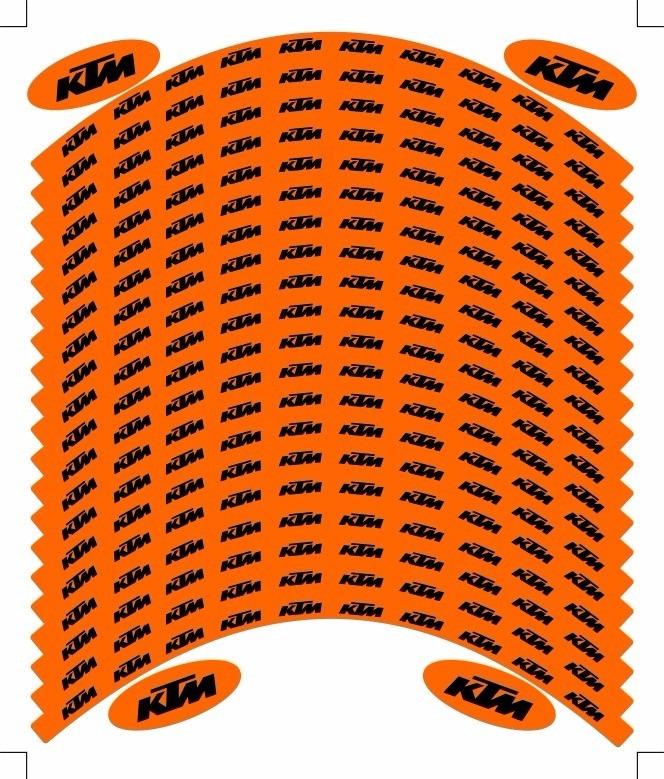 Armario De Parede Pequeno ~ Adesivos De Aro Ktm (réplica) R$ 85,00 em Mercado Livre