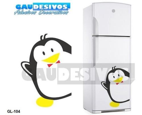adesivos de geladeira decorativo pra pinguim ideal p/cozinha