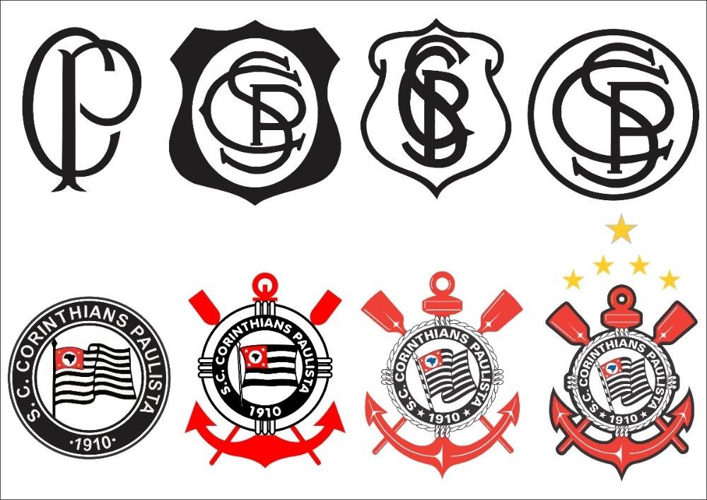 Aparador Vintage ~ Adesivos De Parede Corinthians R$ 120,00 em Mercado Livre
