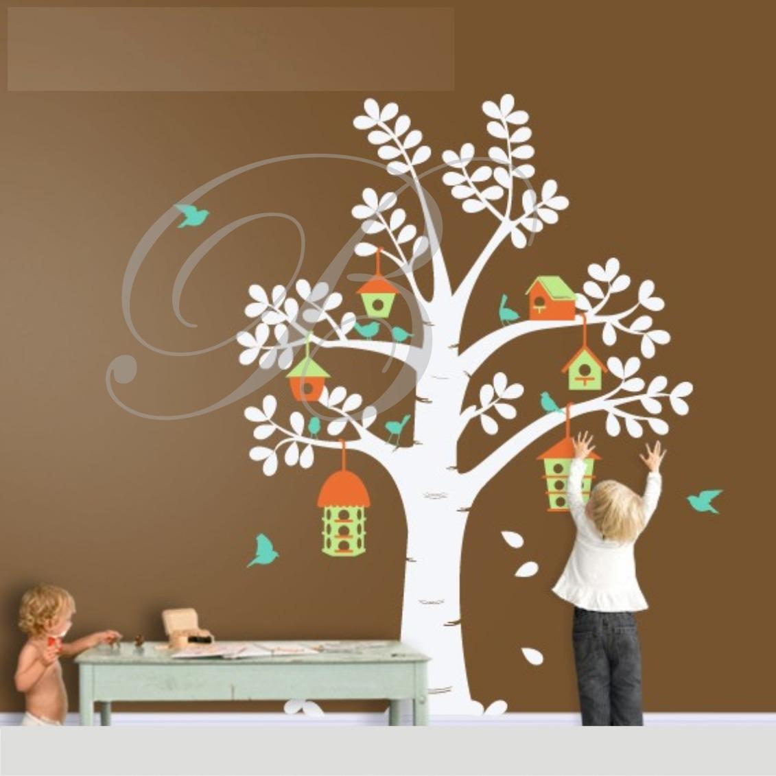 8550ae932 Adesivos De Parede Decorativo Árvores Grandes