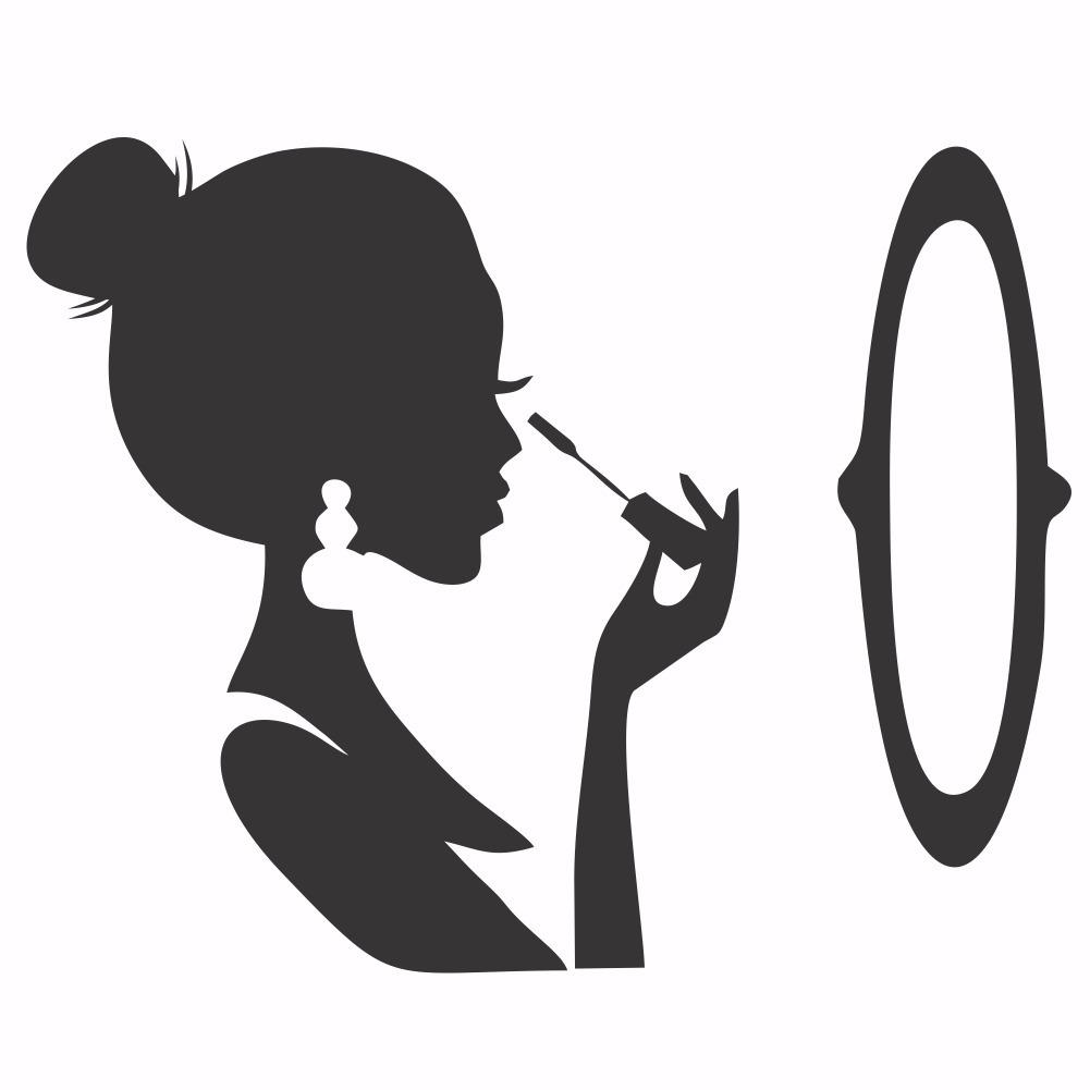 Adesivos De Salao Beleza Maquiagem R 89 68 Em Mercado Livre
