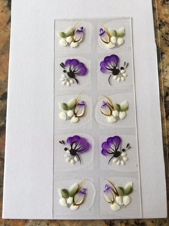 Artesanato Quadros De Madeira ~ Adesivos De Unhas Artesanais Iris Euroville, Surpreenda! R$ 1,50 em Mercado Livre