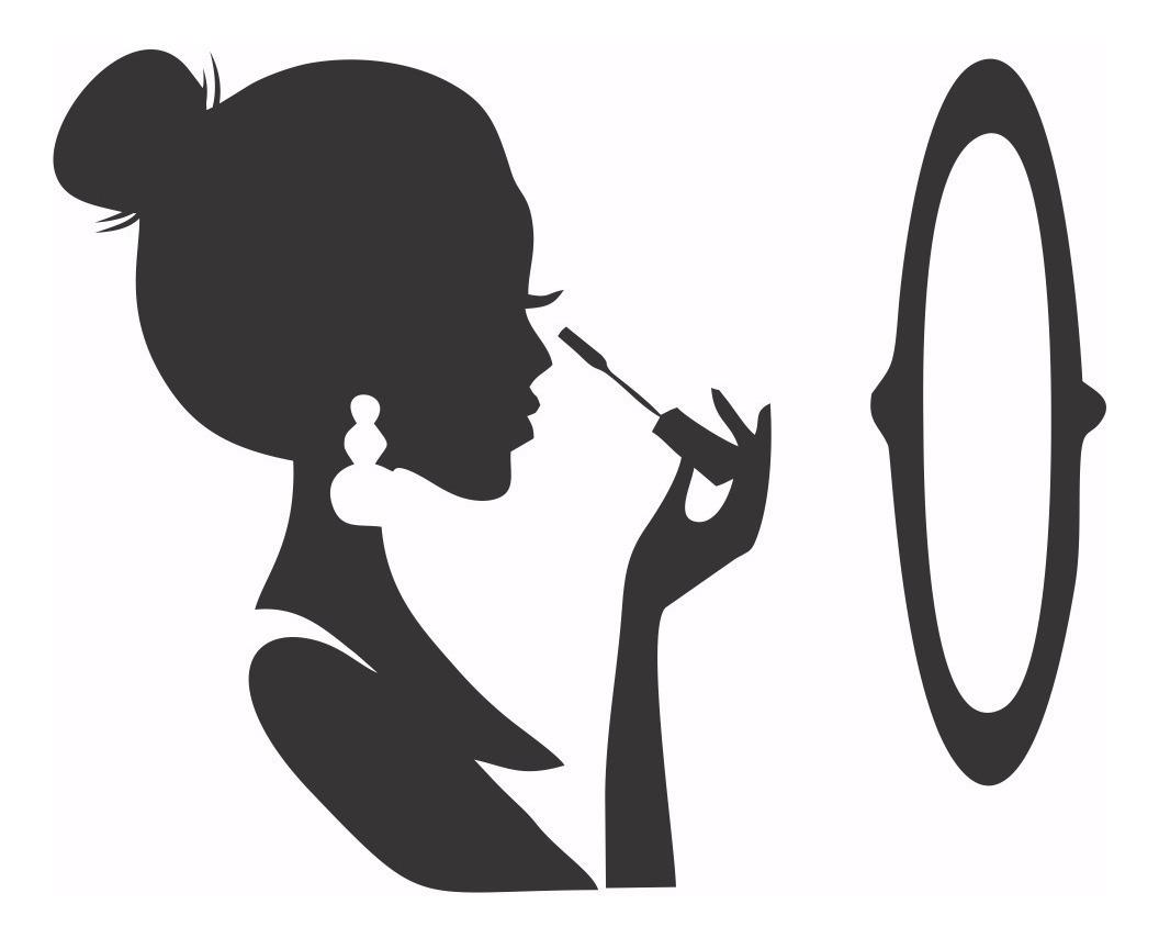Adesivos Decorativo Para Salao Beleza Maquiagem R 38 22 Em