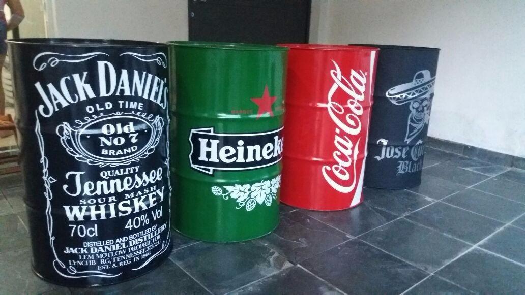 7acd340b0a Adesivos Decorativo Tonel Tambor Barril Promoção Jack Vodka - R  61 ...