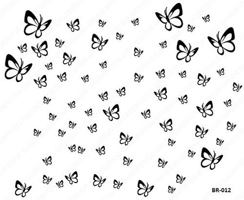 adesivos decorativos 68 borboletas carro, casa, box