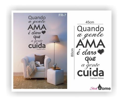 adesivos decorativos de frases diversas stick home