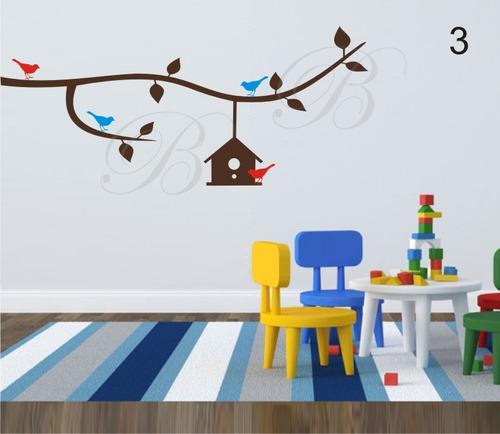 adesivos decorativos de parede árvores galho frete grátis