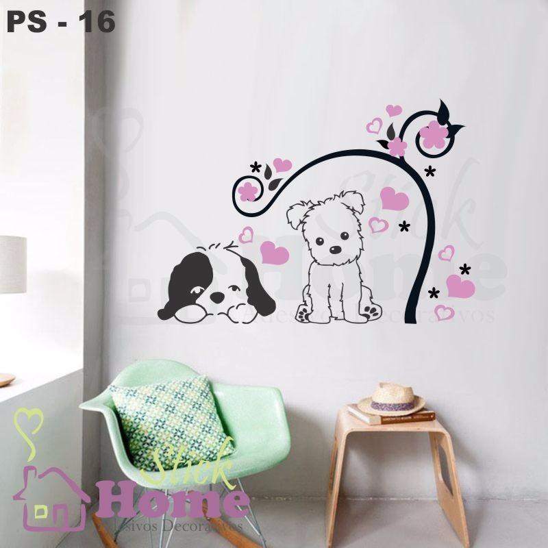 Adesivos Decorativos De Parede Mercado Livre ~ Adesivos Decorativos De Parede Pet Shop R$ 49,90 em Mercado Livre