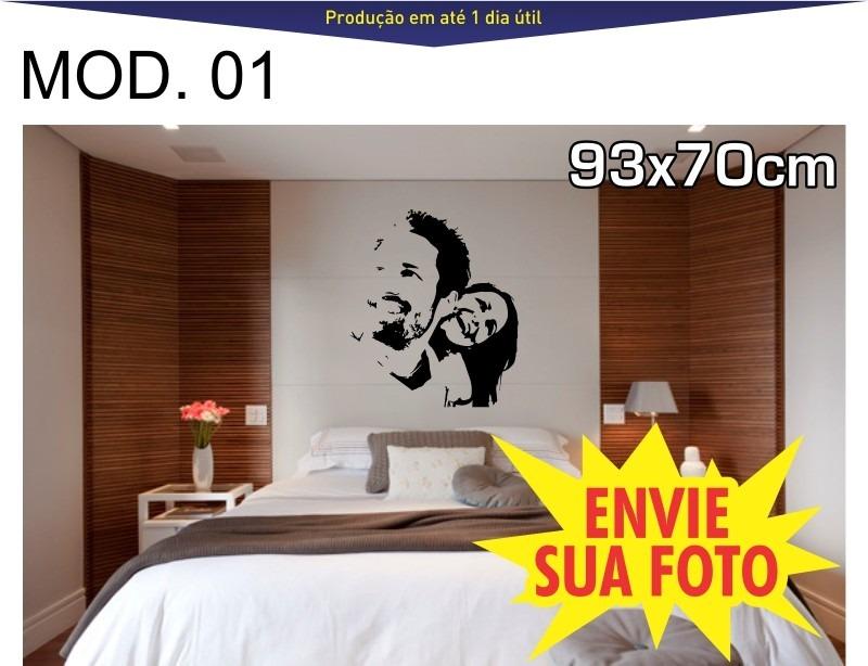 Adesivos Decorativos De Parede  Quarto Casal  R$ 45,90 em Mercado Livre