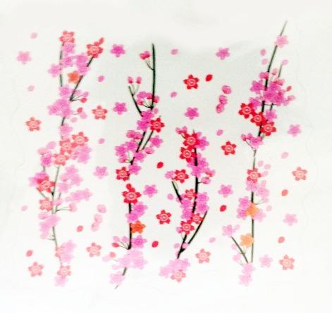 adesivos decorativos flores para ambientes - modelos 2014