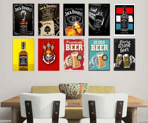 adesivos decorativos frases bebidas cerveja retro vintage