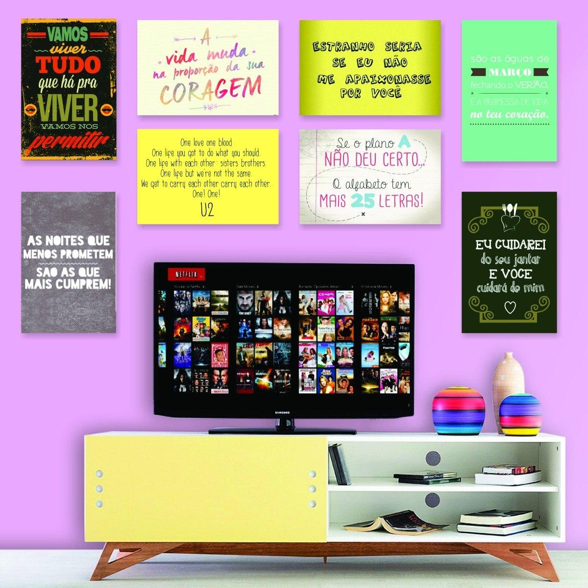 Adesivos Decorativos Frases Motivacionais Engraçadas 20x30