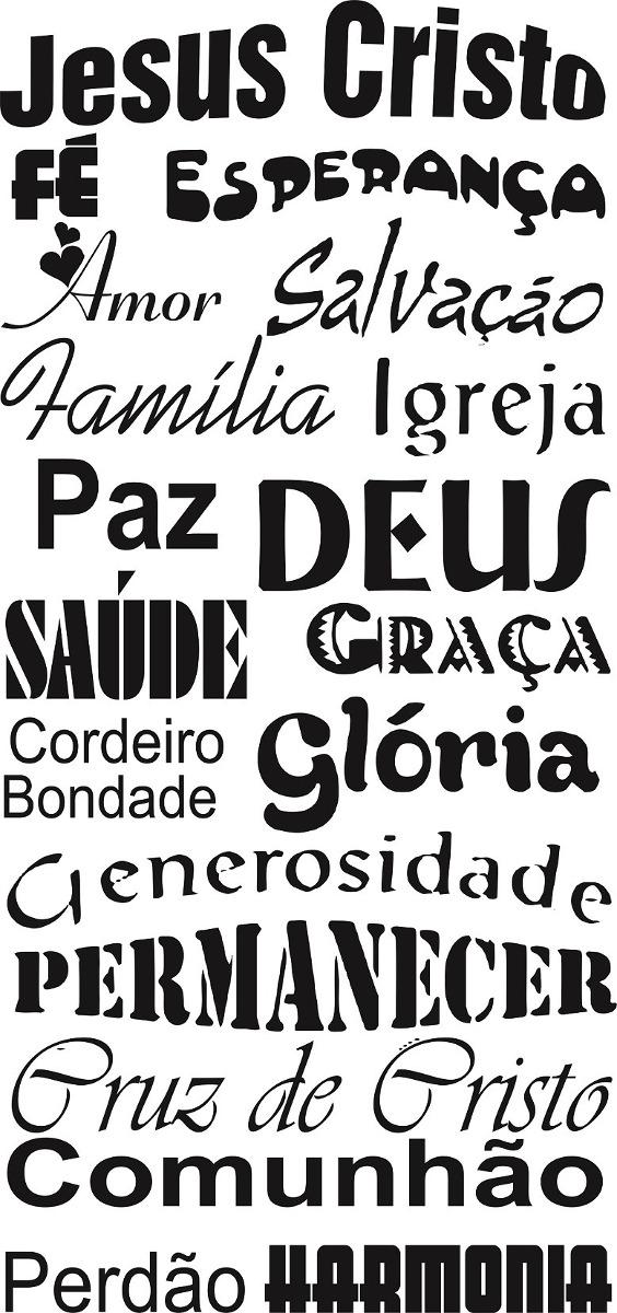 Adesivos Decorativos Frases Pensamentos Jesus Cristo Fe Sala R 37